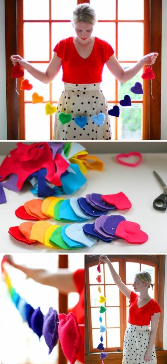 ... composee-de-coueurs-en-feutrine-multicolores-decoration-saint-valentin