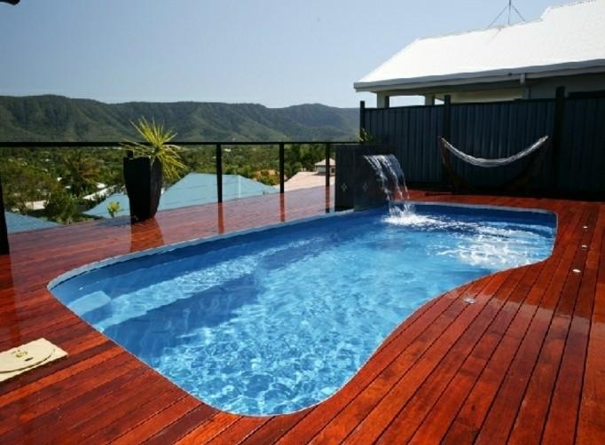 Installer une petite piscine coque le luxe est d j for Piscine hors terre design