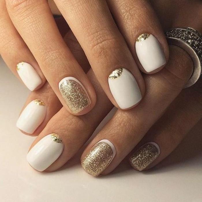 vernis-blanc-decoration-en-effet-brillant-idee-superbe-pour-lhiver