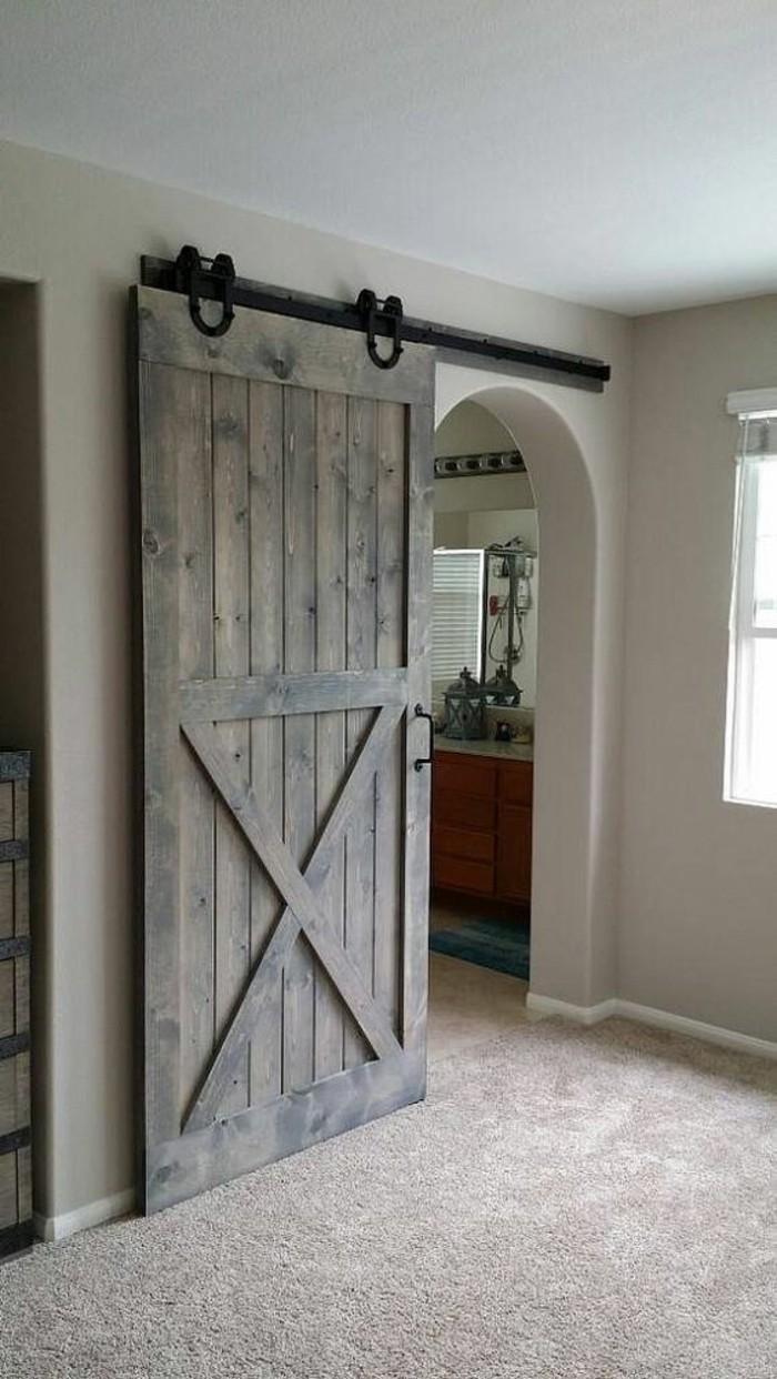 Tete De Lit Porte De Grange ▷ 1001+ idées pour intégrer la porte de grange dans votre