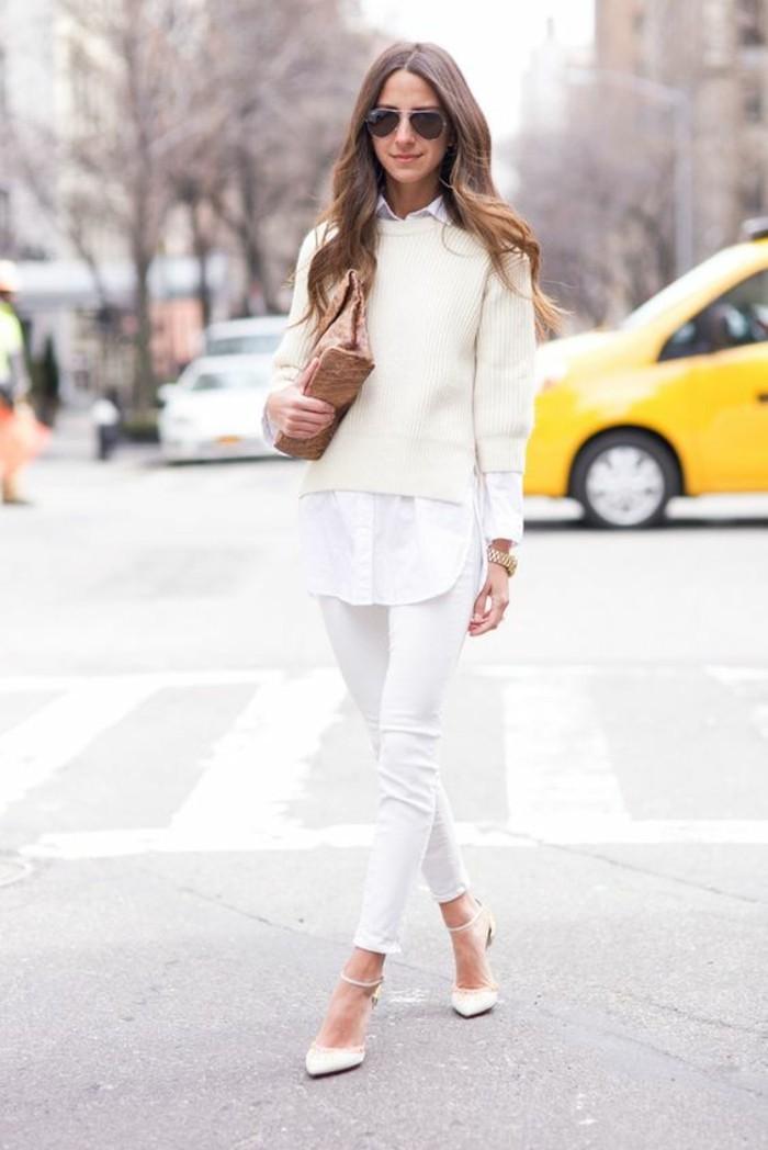 voir-comment-savoir-s-habiller-s-habiller-comme-une-femme-belle-tenue-tout-blanc