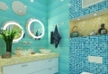 Optez pour une salle de bain turquoise – 80 idées deco