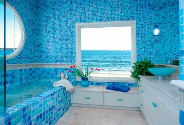 1001 designs uniques pour une salle de bain turquoise. Black Bedroom Furniture Sets. Home Design Ideas