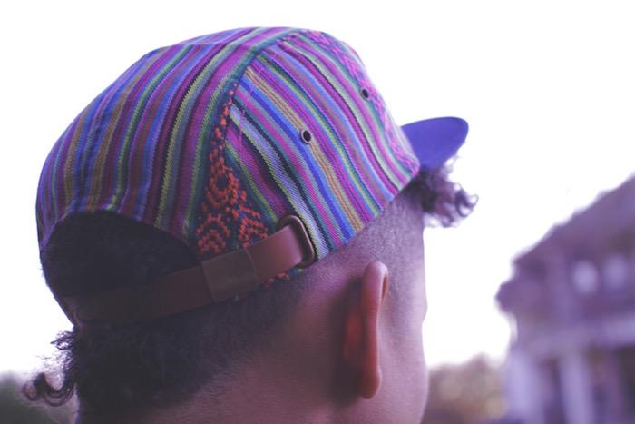 VISYOULIZE love below casquette aztec perou hipster
