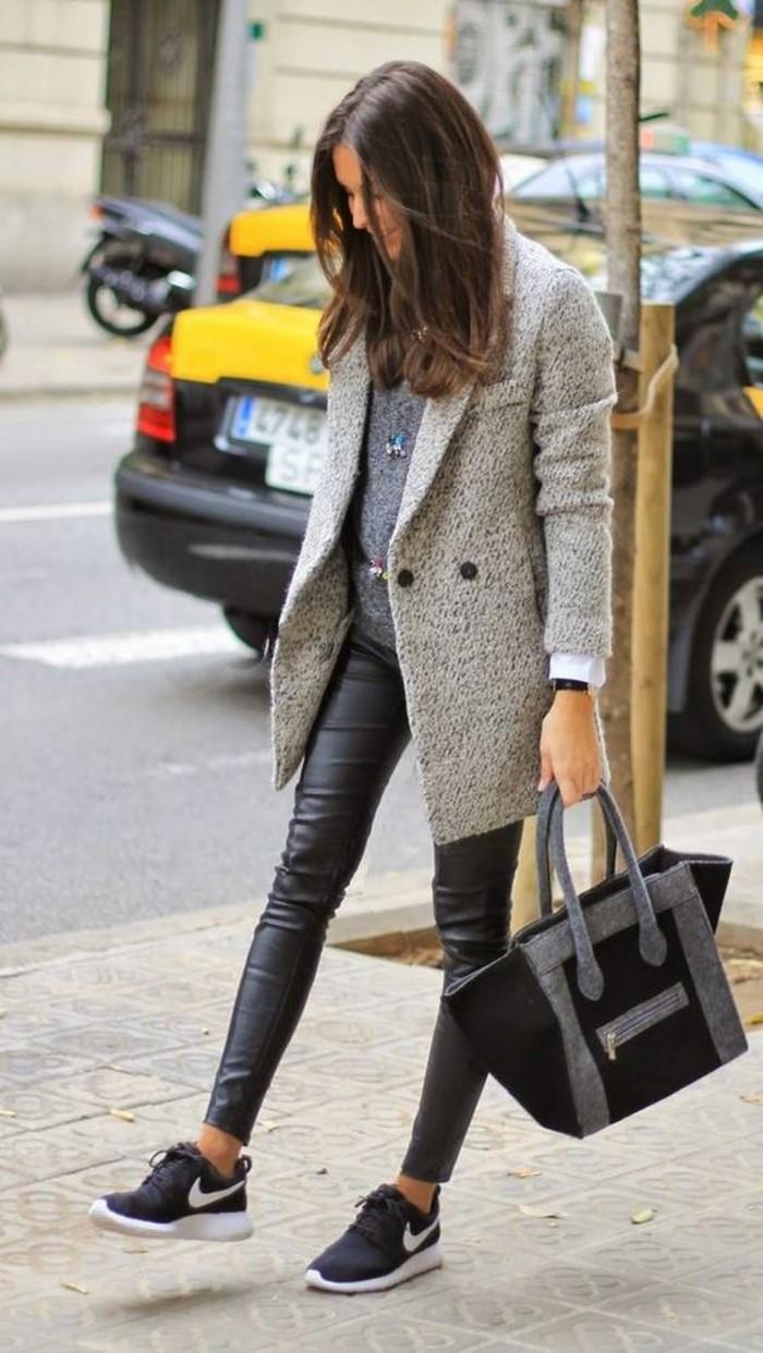 baskets-new-balance-manteau-tweed-legging-effet-cuir
