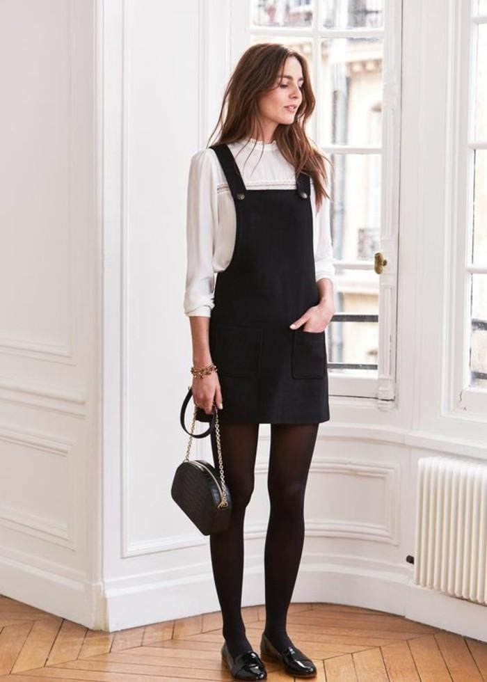 belle-femme-robe-decontractee-chic-tenue-décontractée-femme-idee-quand-a-paris