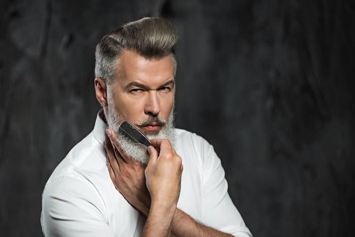 bien peigner sa barbe peinge en corne keratine barbes