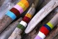 Créations en bois flotté peint – apportez de la couleur à votre décor!