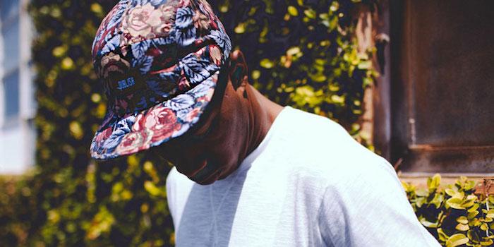 casquette a fleur publish hipster homme