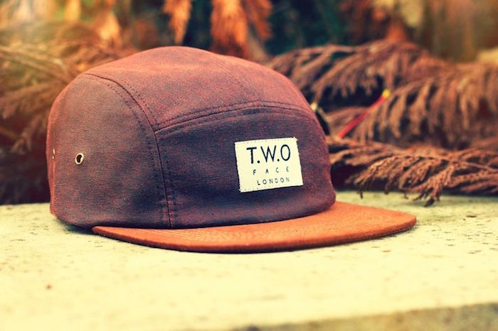 casquette face two face five panel hipster