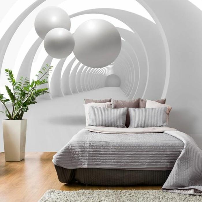 chambre-à-coucher-au-papier-peint-3d-intérieur-couleurs-naturelles-