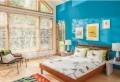 La chambre turquoise – une pièce de relax et de confort