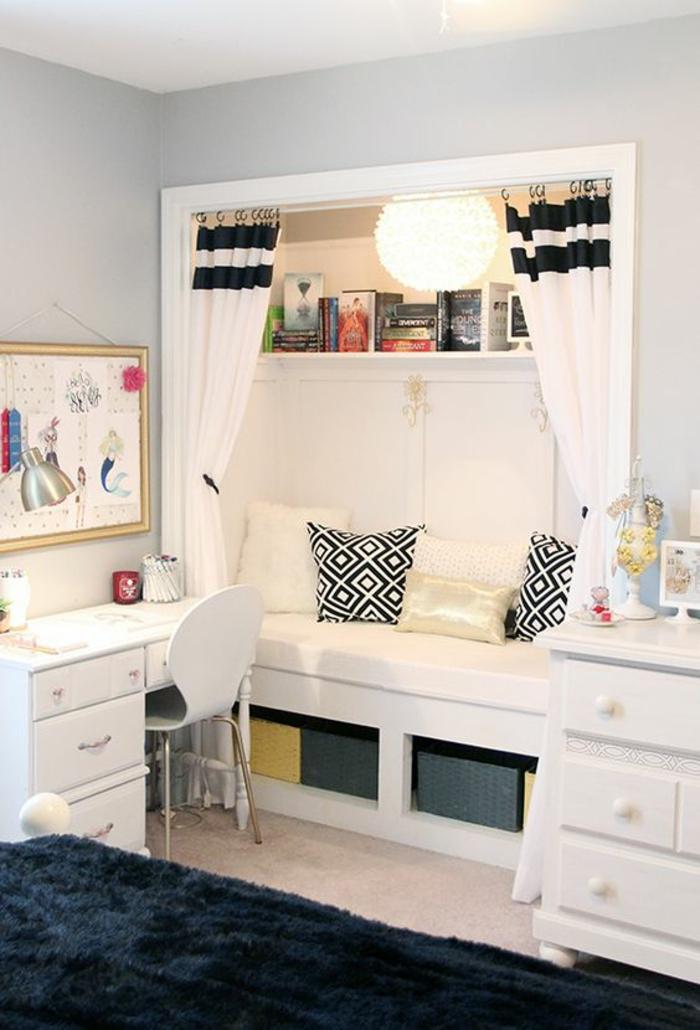 chambre-d'ado-moderne-et-fonctionnelle-canapé-encastré