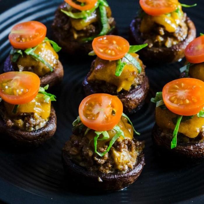 champignons-farcis-au-four-comment-préparer-des-champignons-au-four