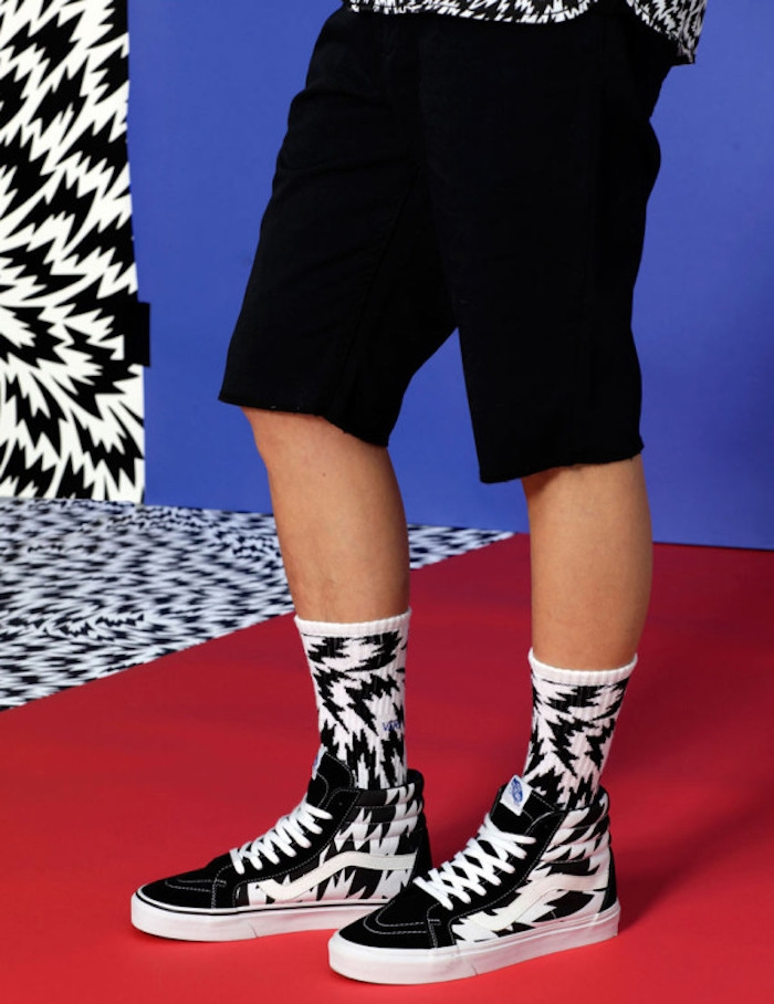 chaussettes Vans x Eley Kishimoto collection old skool