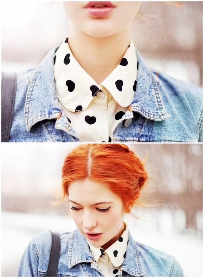 chemise-col-claudine-imprimée-motif-coeur-veste-en-jean