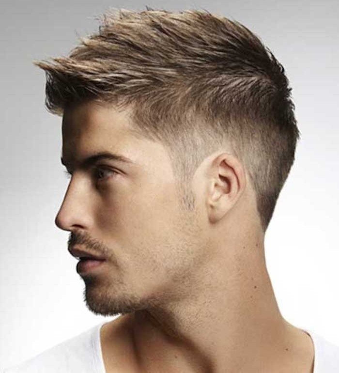 coiffure homme degrade simple