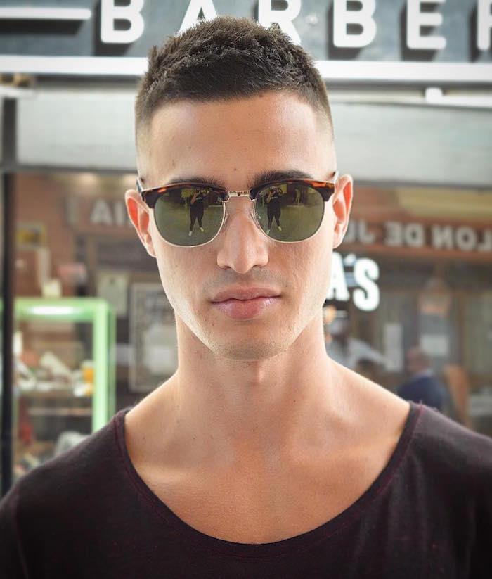 coupe de cheveux homme rase