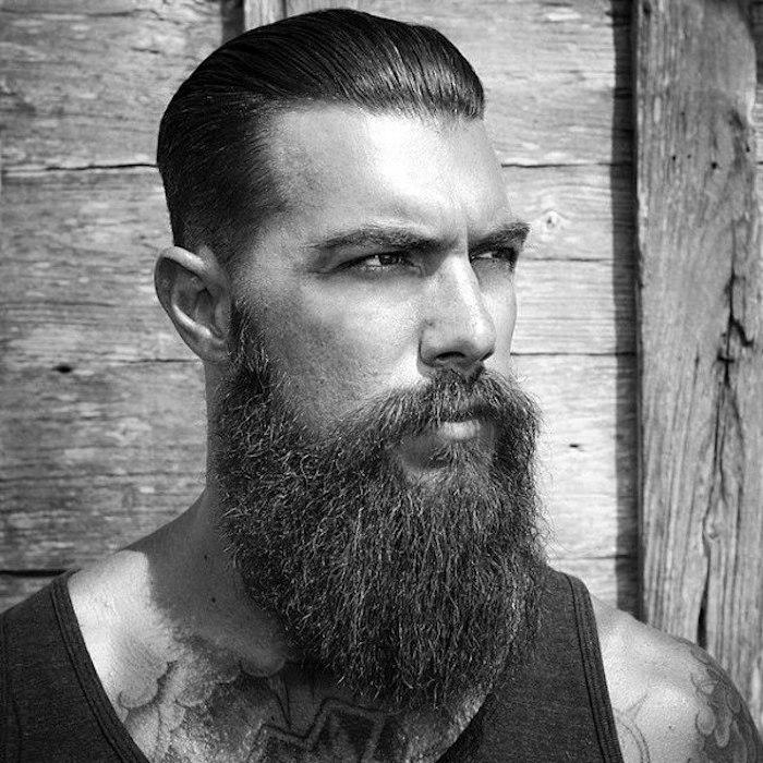 coupe de cheveux en arrière homme année 50 cheveux gominés