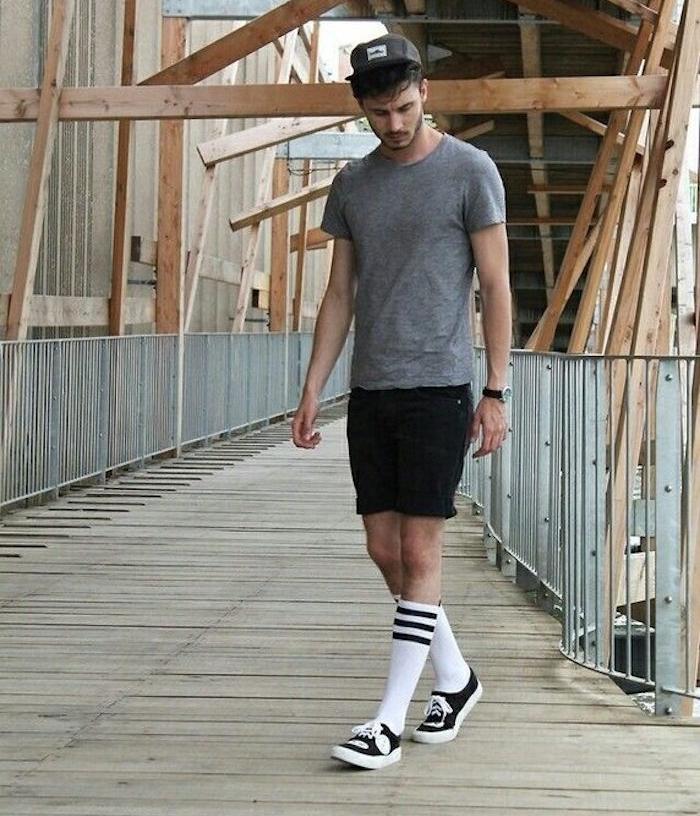 18263635408 Comment porter la chaussette haute pour homme ...