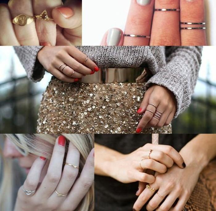 une grande variété de bagues de demi-doigt pour personnaliser votre style, une bague phalange pour jouer sur l'accumumation