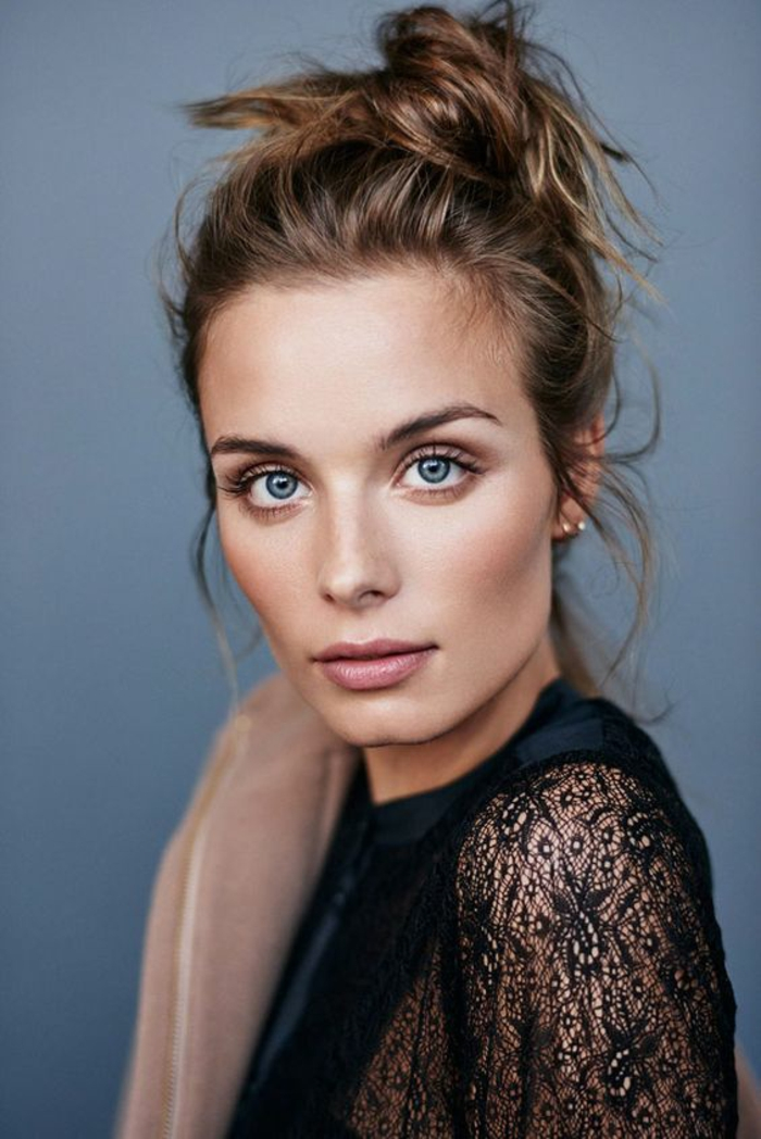 1001 exemples comment bien se maquiller trucs et astuces Idee maquillage yeux