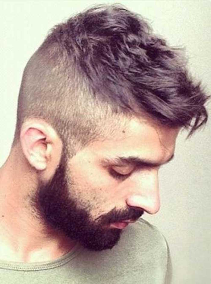 Coupe catogan homme