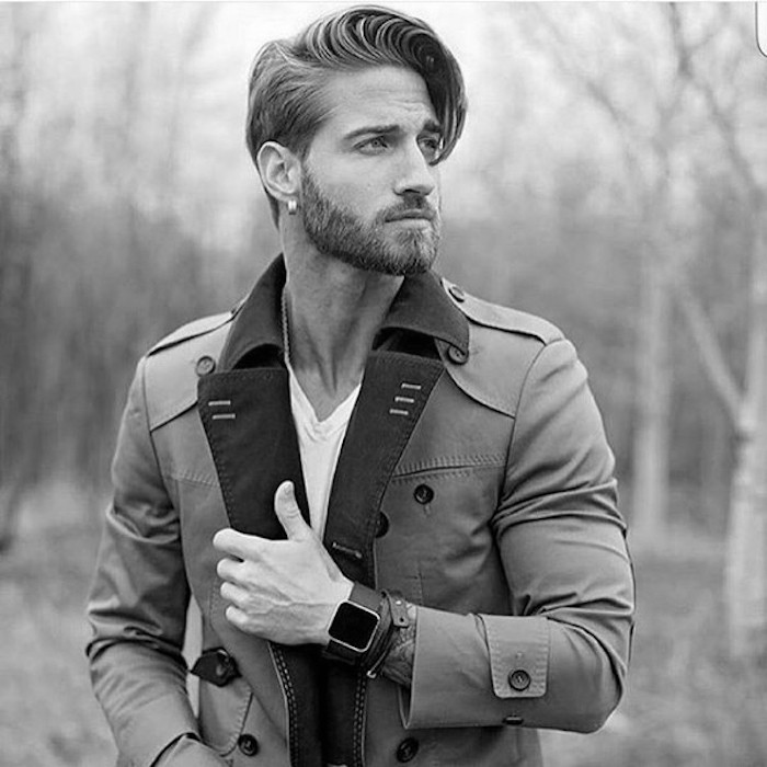 coupe hipster homme pompadour mèches front olivier giroud