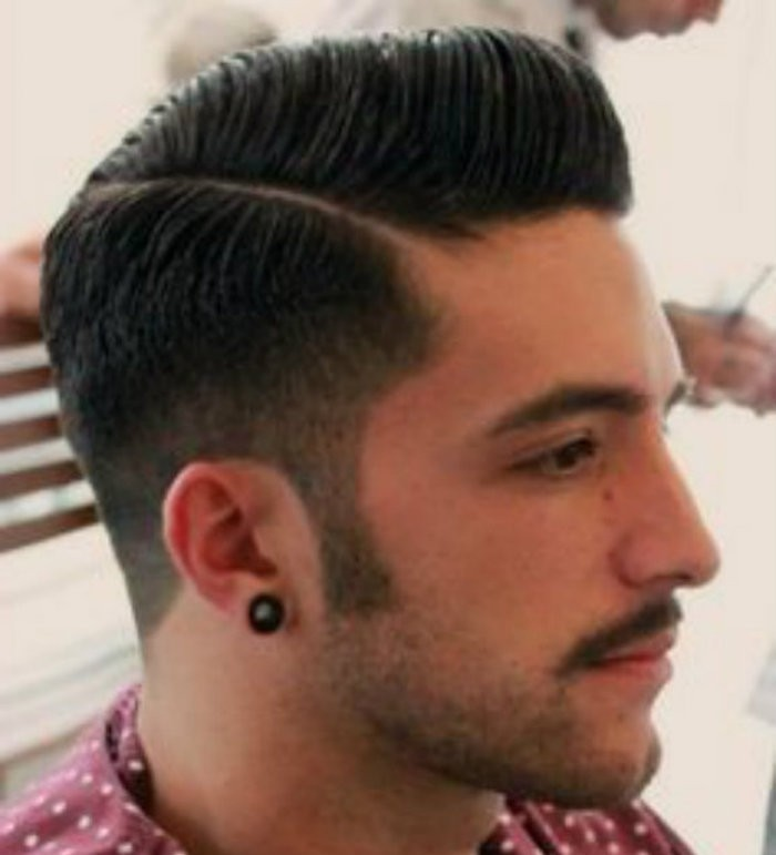 coiffure homme rockabilly