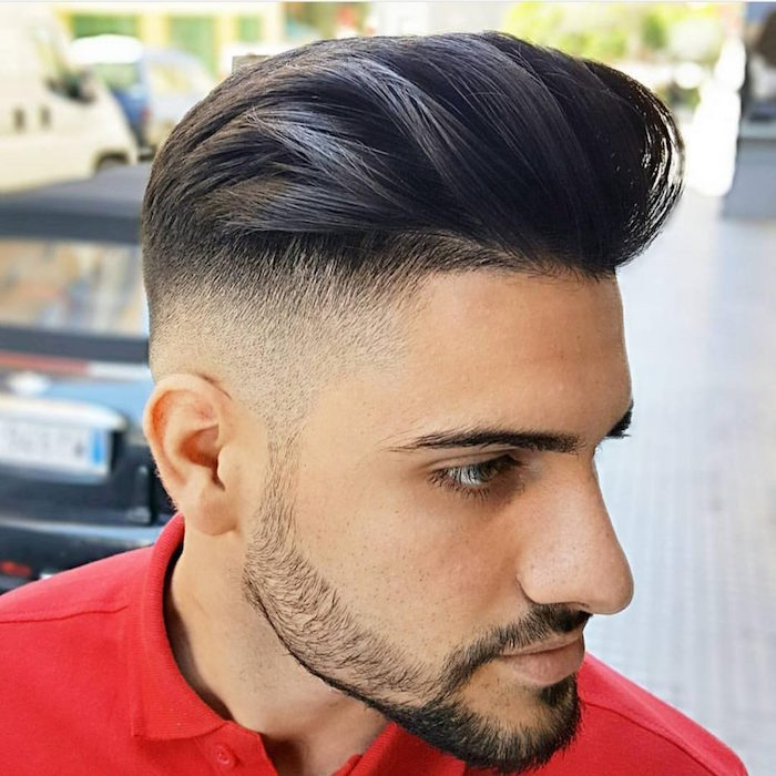 coiffure homme degrade americain