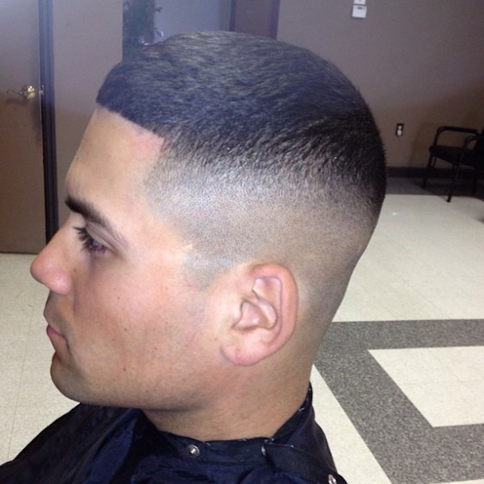 coupe courte degradee homme