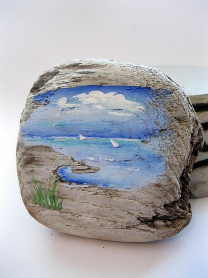 1001 pi ces de bois flott peint Creation bois objet pratique esthetique