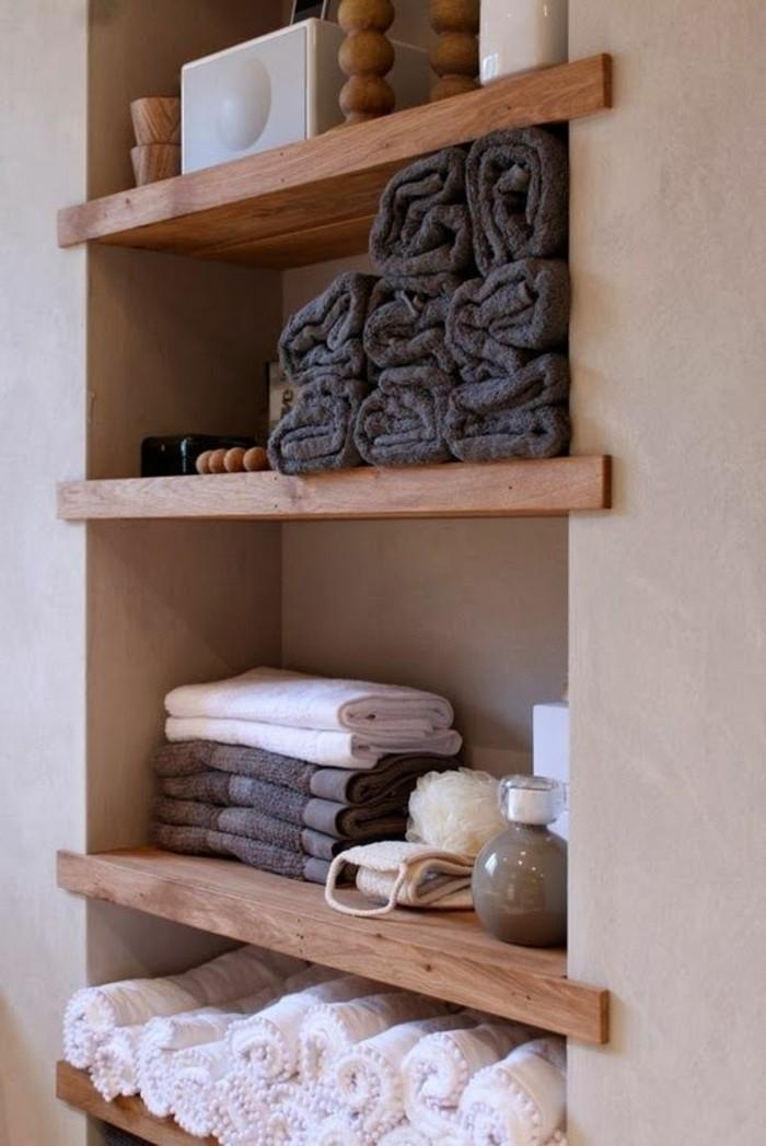 1001 id es comment d corer vos int rieurs avec une niche - Sechoir salle de bain mural ...