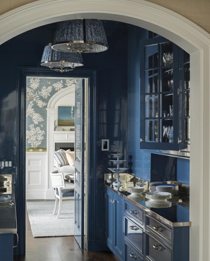 1001 id233es pour la d233coration dune chambre bleu paon
