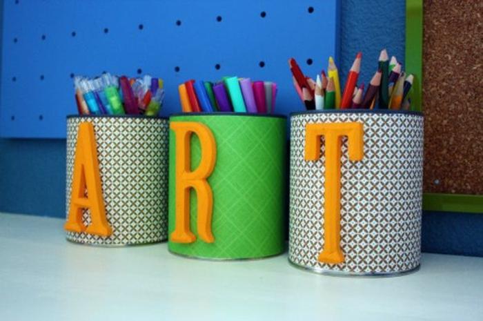 deco-boite-conserve-idée-comment-faire-un-pot-a-crayon-soi-meme-un-rangement-pour-crayons-artistique