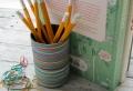 Fabriquer un pot à crayon – 71 tutoriels et idées à ne pas manquer