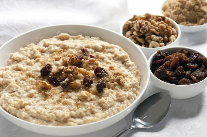 recette flacoavoine petit déjeuner, fruits séchés et noix, gingembre, idée petit déjeuner sain, super aliments