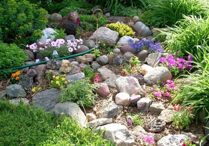 ▷1001+ idées et conseils pour aménager une rocaille fleurie charmante