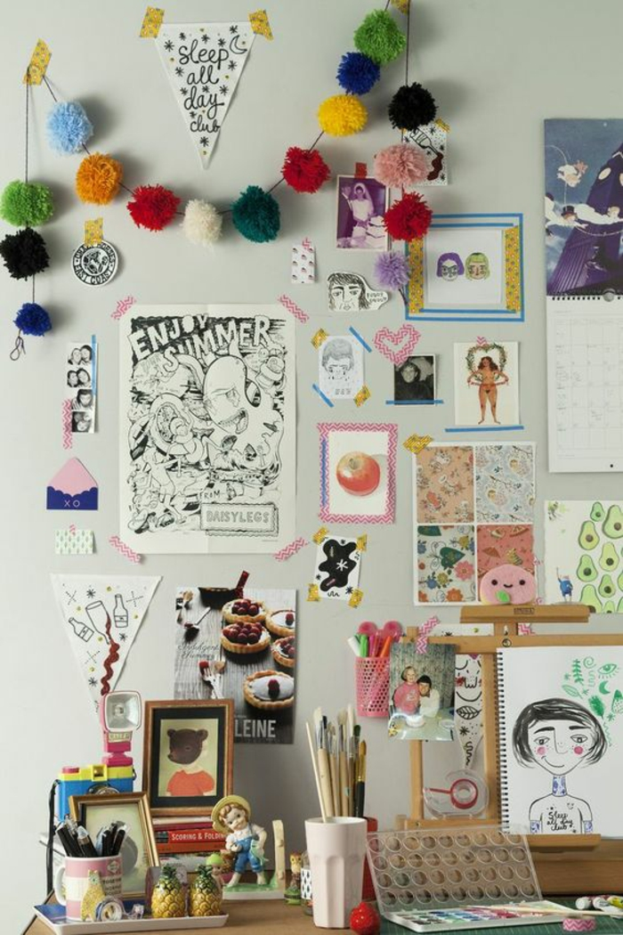 espace-créatif-bureau-chambre-ado-artistique