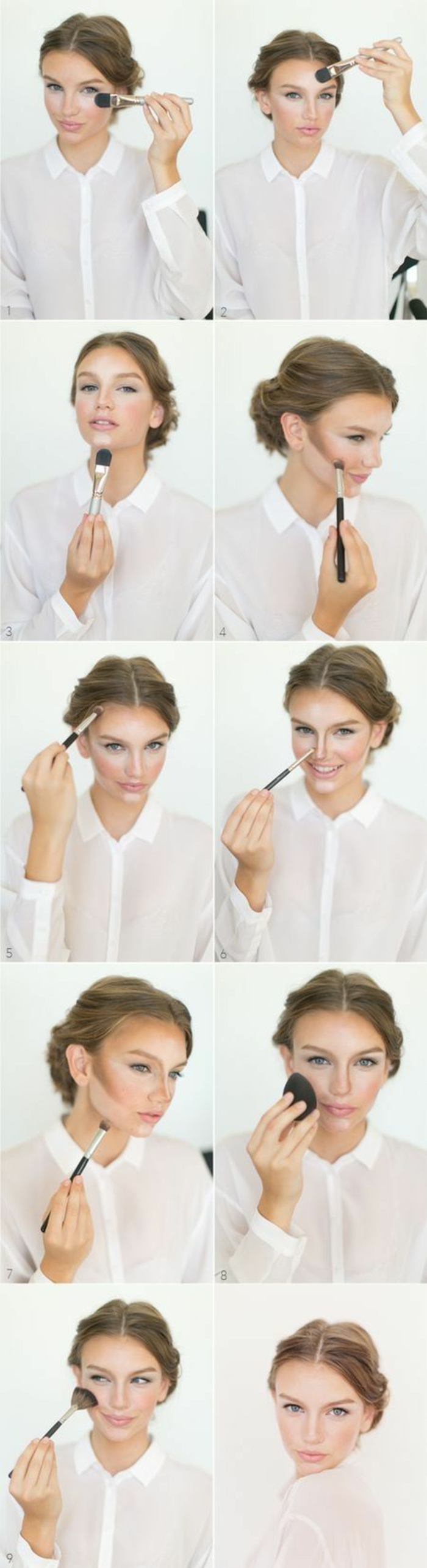 Etape du maquillage inspiration comment maquillage idee comment
