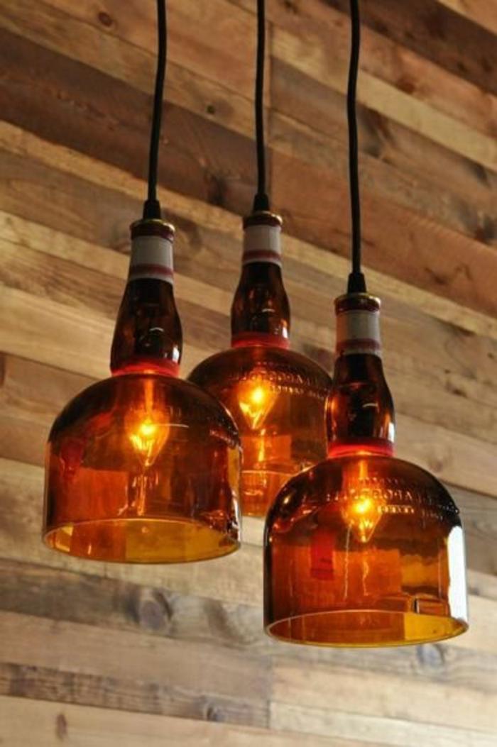 fabriquer un abat-jour avec des bouteilles plastiques