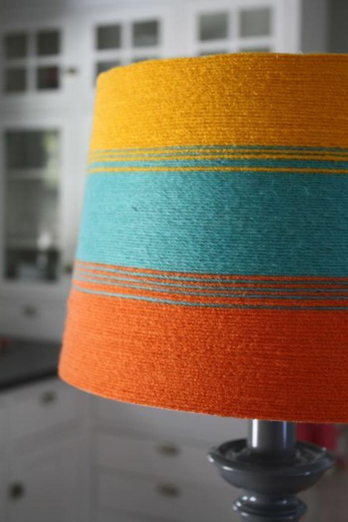 fabriquer un abat-jour en textile