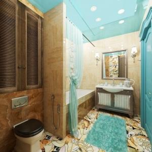 Optez pour une salle de bain turquoise - 80 idées deco