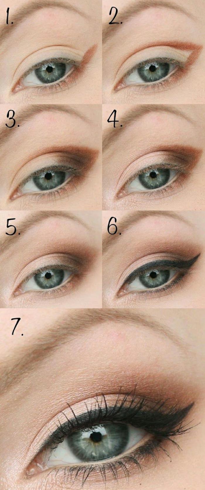 Le maquillage nude maquillage classe maquillage facile idée comment
