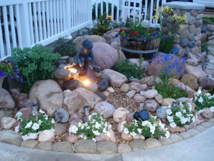 Amenagement Jardin Avec Grosses Pierres : Idées et conseils pour aménager une rocaille fleurie