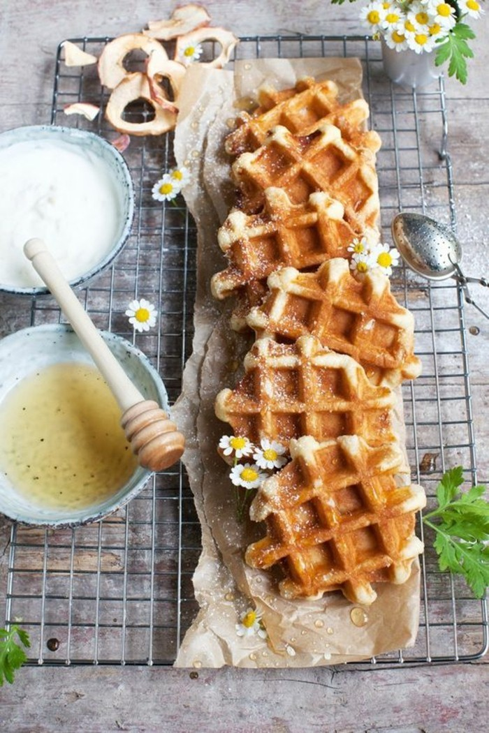 des mini-gaufres liégeoises, comment préparer la meilleure pâte à gaufres