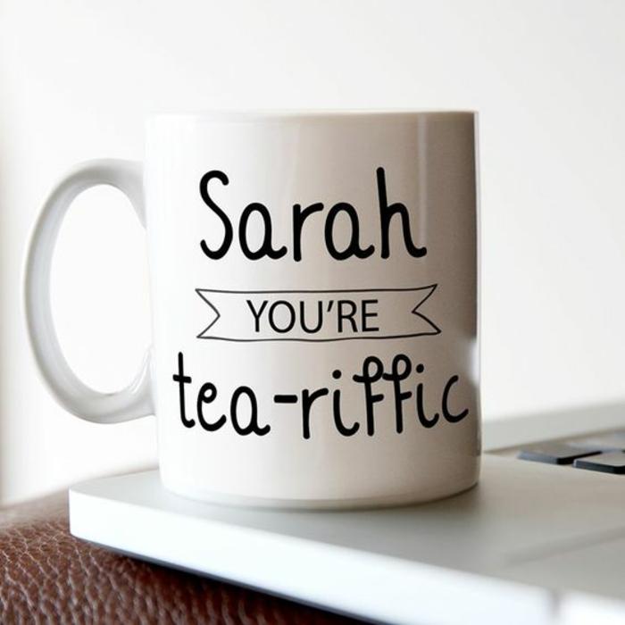 gobelet personnalisable, pour tous les fans du thé