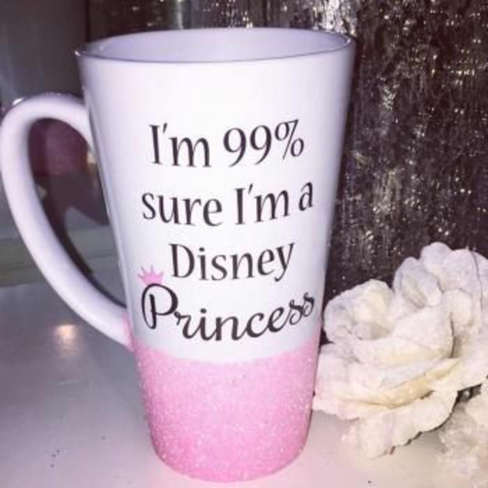 gobelets personnalisés, tasses pour princesse de Disney