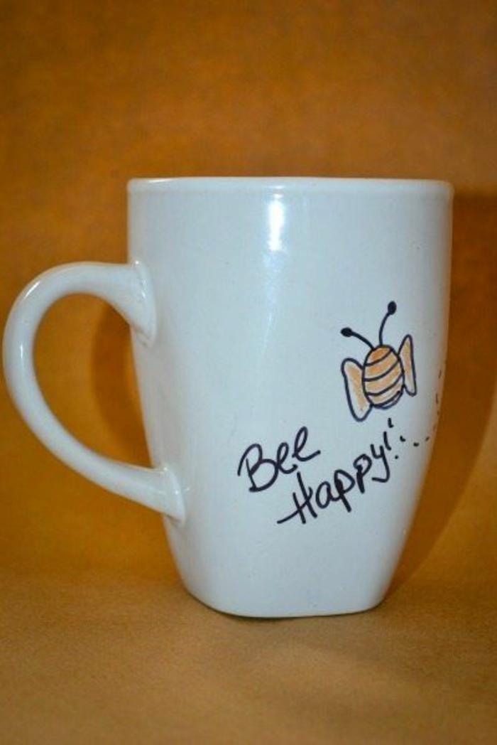 gobelets personnalisés, be happy