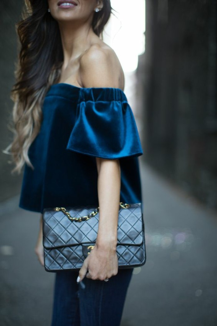habillée-bien-femme-chemise-velvet-comment-s-habiller-en-ce-moment